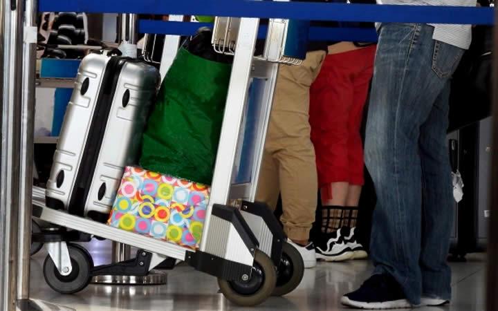 Carrinho de bagagens - Dúvidas dos viajantes