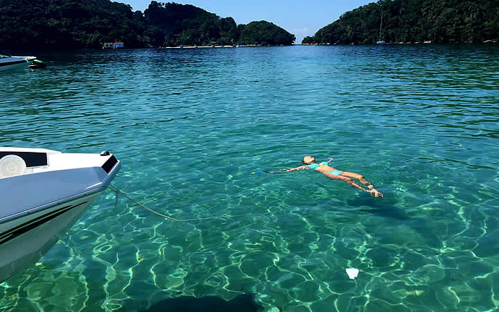 Lagoa Azul Ilha Grande RJ