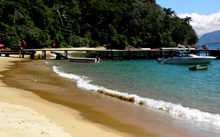 Praia Japariz Ilha Grande RJ