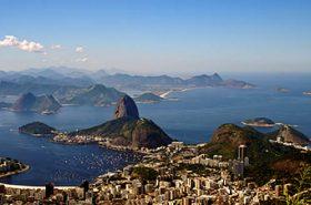 Vista cidade Rio de Janeiro