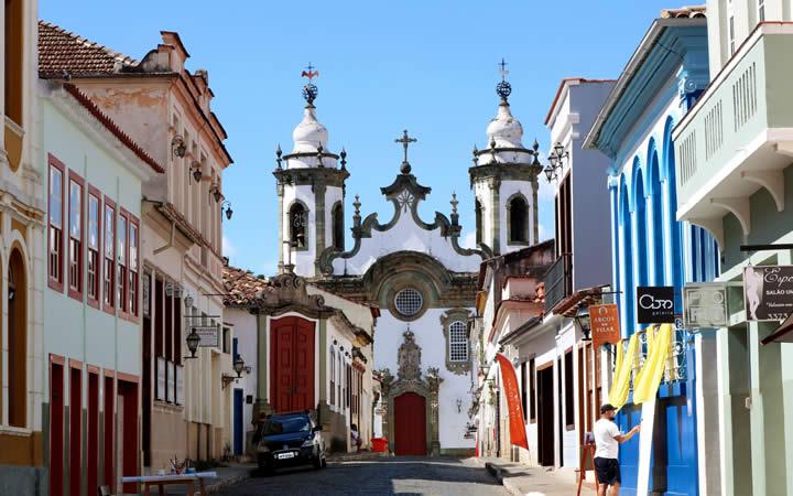 Rua da cidade de São João Del Rei