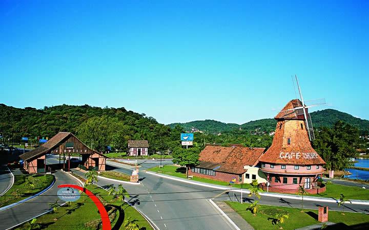 Entrada de Joinville - Viajar no Inverno