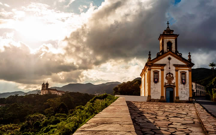 Vila Rica Ouro Preto - Viajar no Inverno