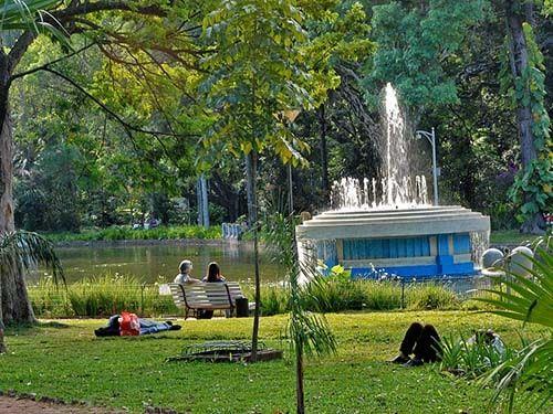 Parque Municipal em BH