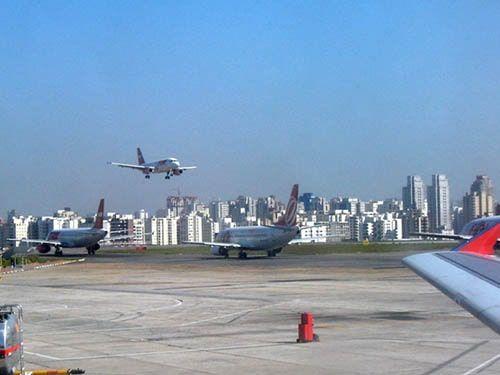 Aviações no Aeroporto de Congonhas SP