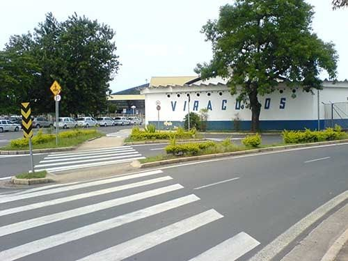 Lado de Fora do Aeroporto de Viracopos SP