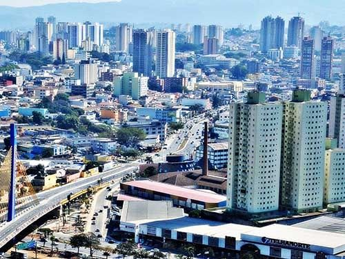 Vista da Cidade de Guarulhos SP