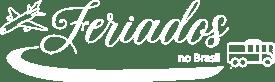 Logo Feriados no Brasil