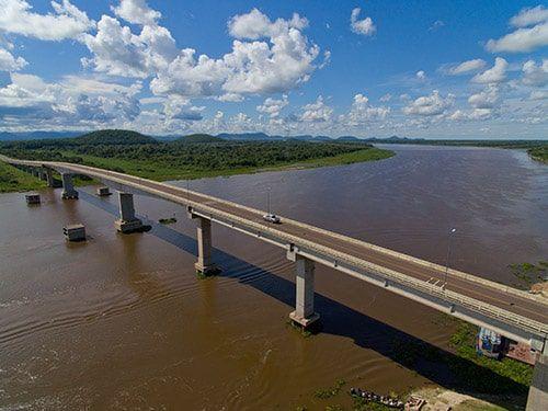Ponte Poeta Manoel Barros MS