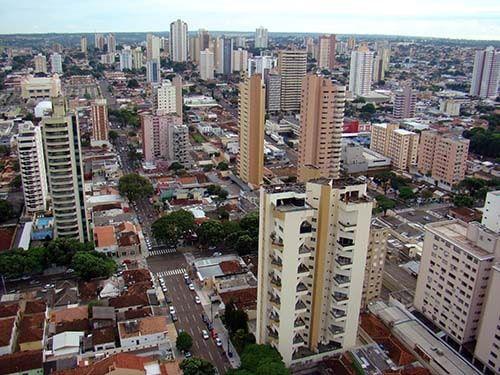Prédios em Campo Grande MS
