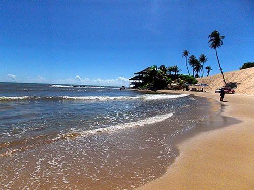 Praia de Genipabu em Natal RN