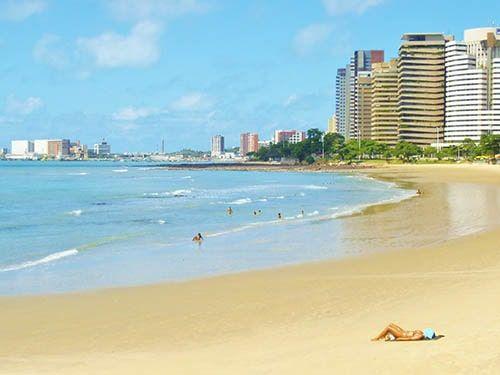 Praia do Meireles Fortaleza CE