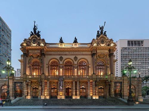 Teatro Municipal de São Paulo SP