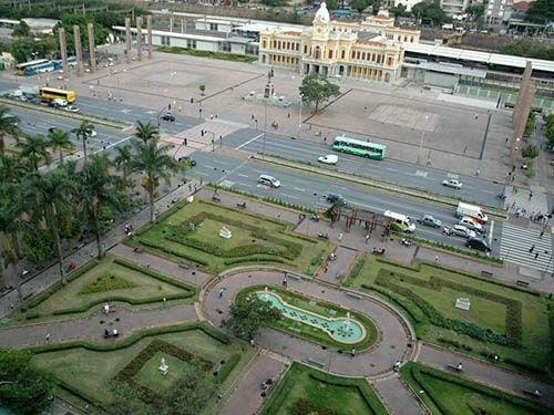 Praça Rui Barbosa Belo Horizonte MG