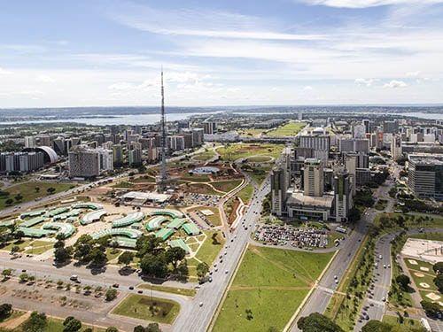 Eixo Monumental Brasília DF